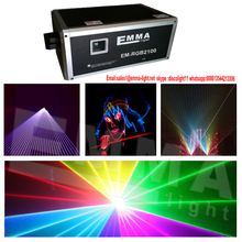 factory offer 10000mw(10w) RGB full color laser carton light show system for disco DJ projector party(China)