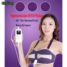 Breast Enhancer.Massager Bra.With Infrared Therapy and Magnetotherapy function Auto Heating Breast enlarger Bra MASSAGE(China)