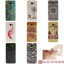 Cheap Pretty Ultra Thin TPU Silicone Soft Phone Cell Case Cover Bag Cove For Samsung Galaxy A7 2016 A710 A 7 Dreamcatcher