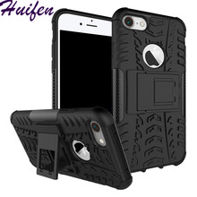 Buy iPhone 8 Case Hybrid TPU Silicone Rubber Hard Caus Plastic Dual Armor Back Cover iphone8 Tough Rugged Impact Phone Case for $2.97 in AliExpress store