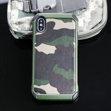 Buy iphone X case Luxury Brand Army Camo Camouflage Pattern case iphoneX case PC Hard + Soft TPU Armor protective cover Capa for $4.74 in AliExpress store