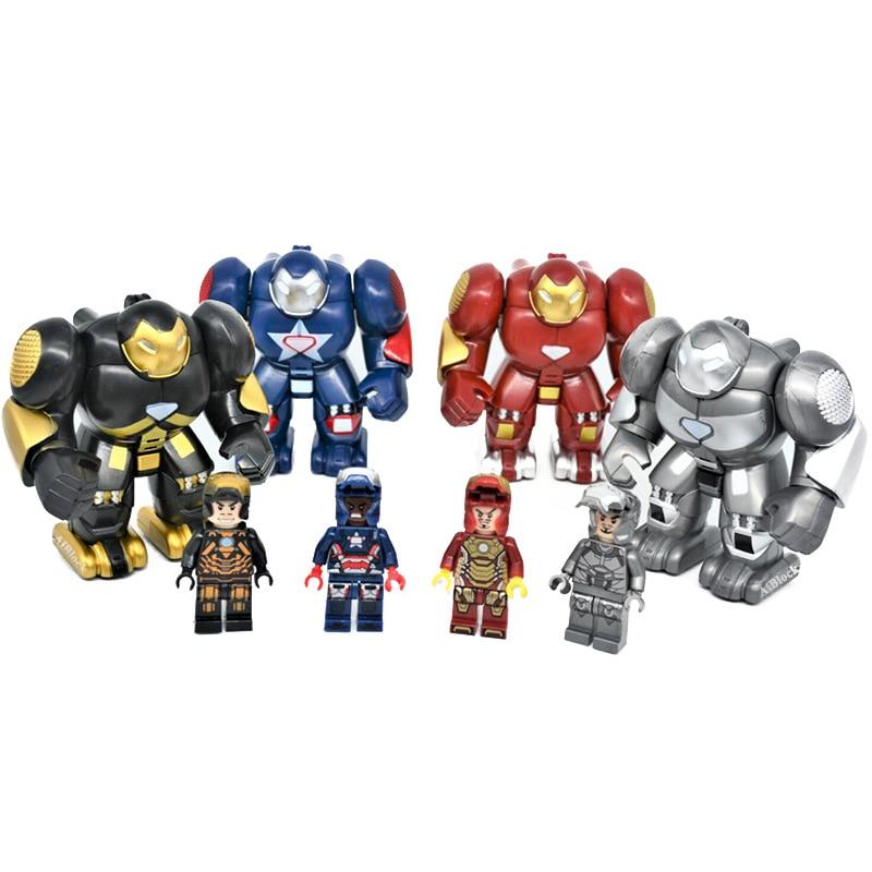 SUPER HEROES MINI FIGS 9 PCS DC MARVEL FITS LEGO 2018 THOR SPIDERMAN IRONMAN