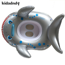 Summer Inflatable Children Swimming Race Baby Seat Boat PVC Animals Thickening Children's Inflatable Swimming Lap LMY903YD
