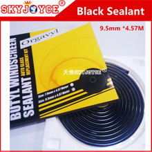 SKYJOYCE Rubber ButylSSealant Tape Glue silicon sealant black headlight sealant for car windscreen sealant car styling led HID(China)