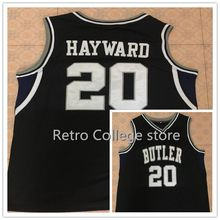 54 DWIGHT HOWARD 15 Rotnei Clarke 20 Gordon Hayward Butler Bulldogs Basketball Jersey College Throwback Stitched Jerseys Shirt C(China)