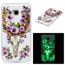 Luxury Case For Samsung Galaxy J3 J5 J7 2016 J320F J510FN J710FN Duos 3D noctilucent Cover Silicon TPU Cute Phone Casing Housing