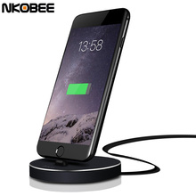 NKOBEE For iphone Charging Dock USB Sync Data for iphone 7 Charger Charging Dock Station Desktop Charger For iPhone 5 5S 6 6S 7