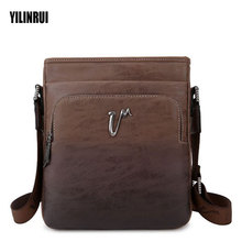 Cowhide Genuine Leather Shoulder Bags Retro Crossbody Bag Ipaid Men Messenger Bags Handbag  Men's Leather Bag Male Flap 2017 NEW