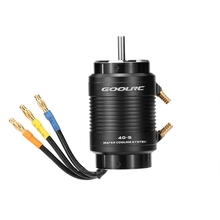 Original GoolRC 4074 2000KV Brushless Motor and 40-S Water Cooling Jacket Combo Set for 1000mm (or Above) RC Boat Parts