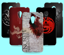 Ice and Fire Cover Relief Shell For Meizu MX4 Cool Game of Thrones Phone Cases For Meizu MX4 Pro