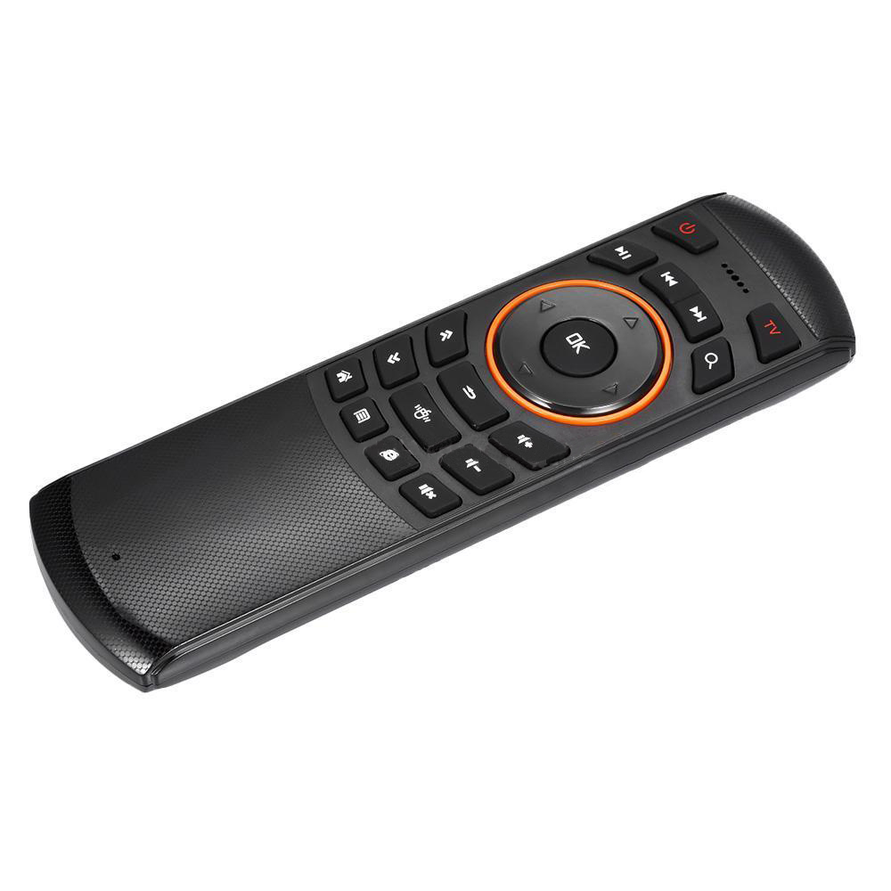 Mini 2.4GHz Wireless QWERTY Keyboard Air Mouse Remote Control For Mini PC TV Box