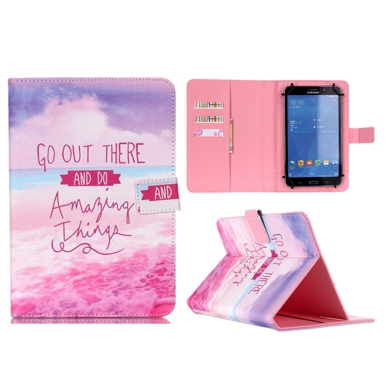 Wallet Universal10 inch Tablet PU Leather Case Stand Cover For ARCHOS 101 Neon101 Xenon101 XS 2 10.1 For Android Cases S5C53D (34)