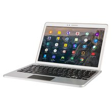 Touchpad Keyboard Dock for 7 - 10.1'' Tablets, Cooper GoKey Touch Wireless Bluetooth Keyboard with Kickstand and Trackpad