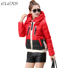 Elexs Winter Wear Muti-color Military Style Outwear Women Parkas Coats Winter Coat TSP2542