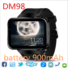 2017 New 3g GPS Wifi Bluetooth Watch Smart Watch DM98 Supports SIM Card Reminder Calls for Android/IOS phone pk kw88(China)
