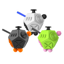 New Fidget Toy 9 style  Fidget  Cube2 Stress Reducing Toy Anti Stress Cube Adult children gift colorful cube lovely safety toy