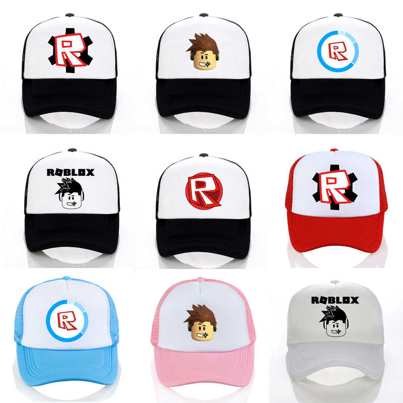 Hot Roblox hat Games Rock Band Baseball caps cool Cosplay cap Unisex game  roblox Figure Pointy f3f2a89914ee