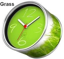 [In Stock] Grass Magnetic Cheap Wall Clocks,Cheap Desk Clocks,Cheap Table Function Clocks in Free Shipping