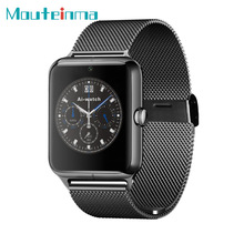 Z50 Bluetooth Smart Watch Luxury Wrist watch Support SIM TF Fashional Camera Remote SmartWatch for Apple android phone(China)