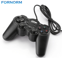 FORNORM 2.0 USB Wired Gamepad Joystick Joypad Gamepad Game Controller For PC Laptop Computer For Win7/8/10 XP/ For Vista(China)