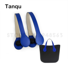 TANQU Long Short Flat Handle for obag Faux PU Leather Handle Drop Shape End for O Bag OCHIC Obag '50