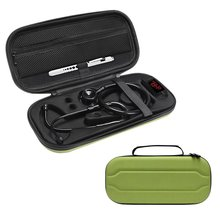 2018 New Top Stethoscope Hard Carrying Bag Case For 3M Littmann Classic III / MDF / ADC / Omron,Mesh Pocket for acceeories(China)