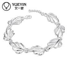 New summer style romantic 925 sterling silver bracelet for women wedding party free shipping