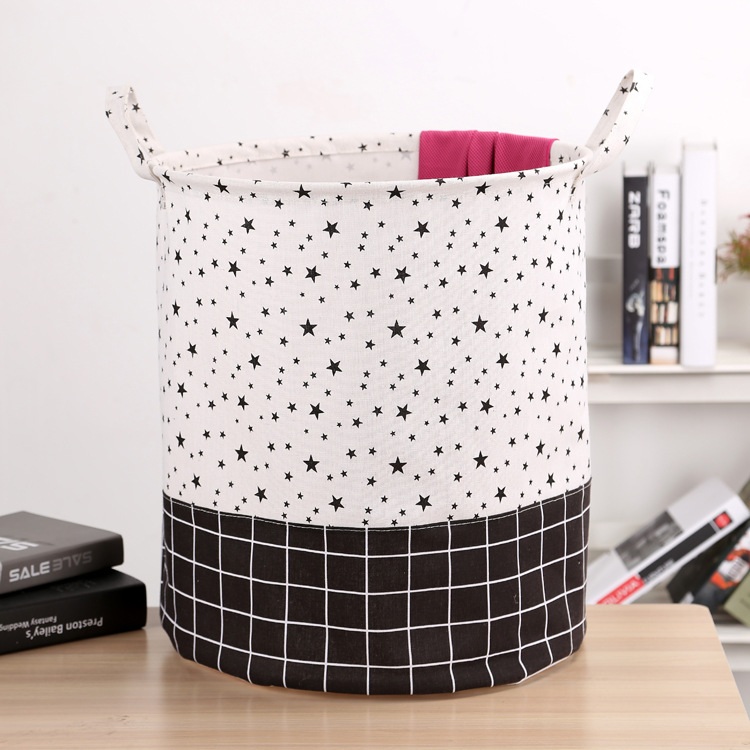Free shipping Laundry Basket Storage 40*50cm Large Basket For Toy Washing Basket Dirty Clothes Sundries Storage Baskets Box 18
