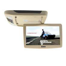 10 Inch Car Monitors Flip Down TFT LCD Screen Automobile Roof Monitor With MP5 Player(China)