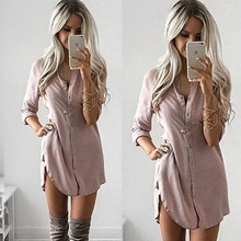 Plus Size Spring Summer Womens Blouses Fashion New 2017 Khaki Long Sleeve Body Shirt Women Shirts Tops Formal Blouse Clothing