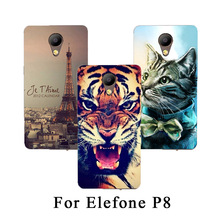 Buy 14 Styles TPU Phone case Elephone P8 Flowers Animal Eiffel Towers DIY Painted case cover Elephone P8 for $3.05 in AliExpress store