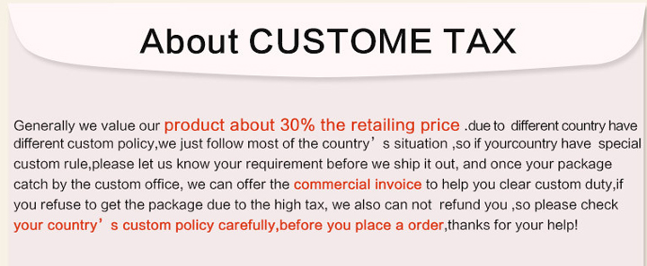 4 customs tax