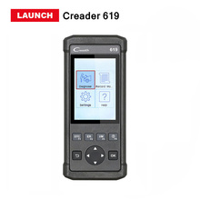 LAUNCH X431 creader 619 scanner Auto obd2 Eobd code reader diagnostic tool support ABS SRS X-431 CR619 same as Autel AL619(China)