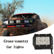 New LED Work Light 18W For Motorcycle Car Truck Boat Tractor Pan light Road Work Lamp Motorbike Driving LED Lights