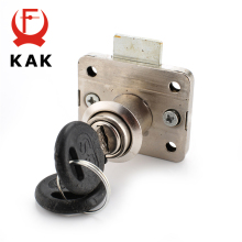 KAK-101 High-grade Desk Drawer Lock Wardrobe Locks Cabinet Locks Furniture Cam Locks(China)