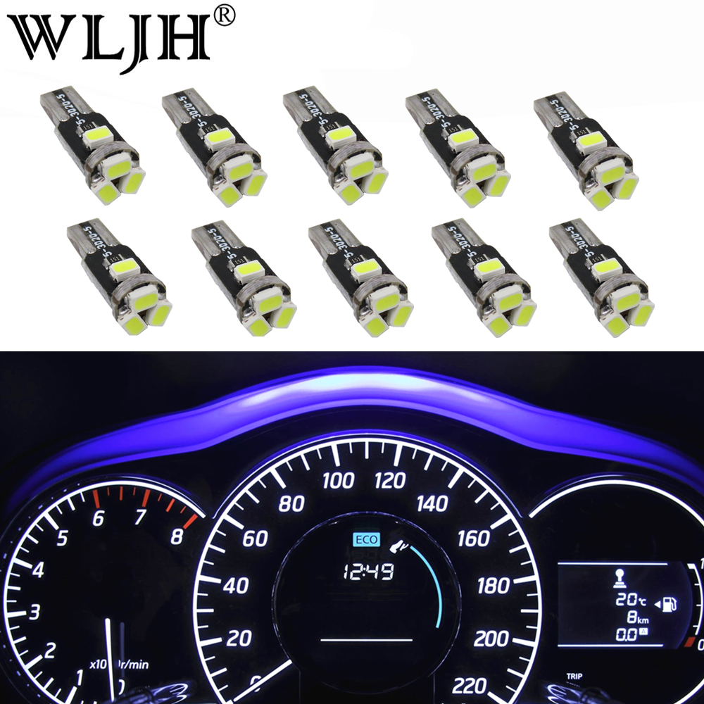 Suit Suzuki Swift White LED Dash Gauge Light Kit