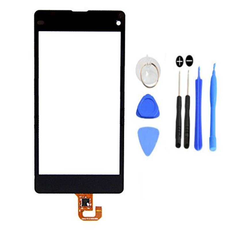 100% Original new touch screen digitizer touch panel  with free tempered flim for Sony Xperia Z1 Mini Compact D5503 M51W+tools<br><br>Aliexpress