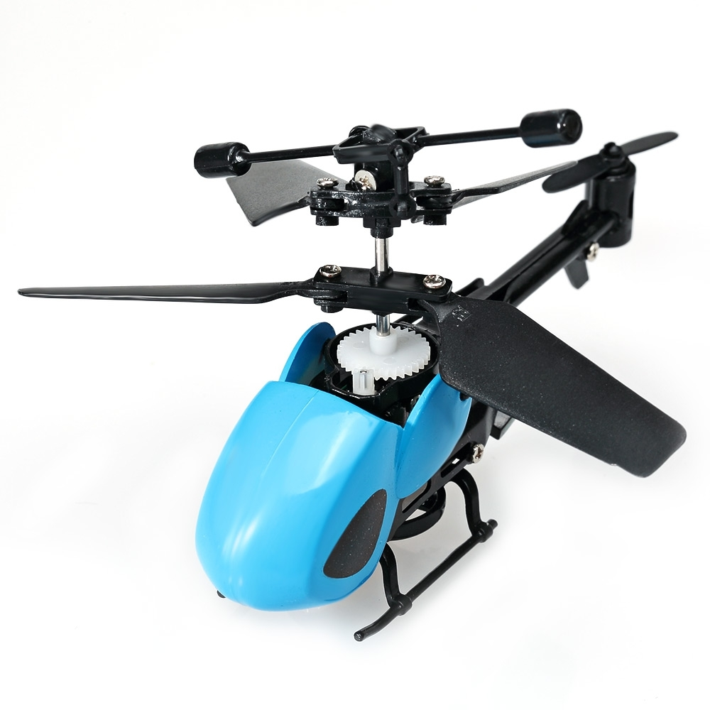 QS QS5013 Mini RC Helicopter 2.5 Channel RC Helicopter with Gyroscope IR Remote Control Function RC Drones(China)