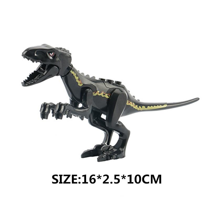 "6/"" LARGE Raptor Velociraptor Dinosaur Toy Action Figure Model D9"