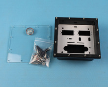 Free shipping Waterproof Sealed Servo Radio Box for Marine Gas Nitro RC Boat(China)