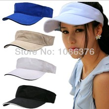 2014 Solid outside  empty hat Ms. madam lady girl women female beach cap 8color 1pcs brand new arrive