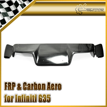 EPR Car Styling FRP Fiber Glass TS Style Rear Diffuser Fit For Nissan 03-08 Z33 350Z Infiniti G35 Coupe 2D JDM(with fitting)