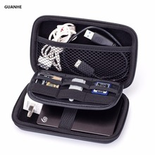GUANHE Electronic Accessories Storage Pouch Kit Organizer Cable Power Bank Hard Drive U Disk Carry Case Smart Phone(China)