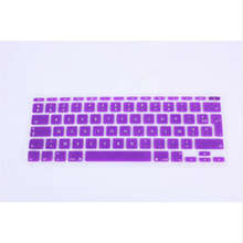 "AZERTY French Euro EU UK keyboard cover for Apple macbook Air 11"" 11.6 Inch Protective Film for mac book laptop Skin(China)"