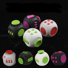 8 paterns Fidget Cube 3 Generation Fidget Toys For Puzzles Magic Gift AntiStress Stress Reduced Adults Toys Amy Gree Best Price(China)