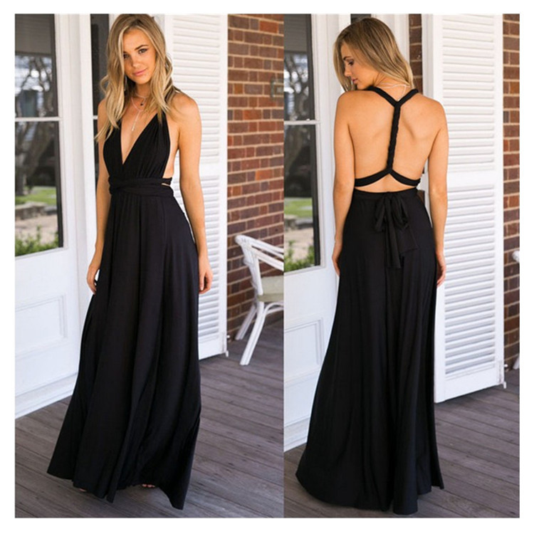Women Bodycon Body length Party Backless Sexy Long Dress Purple  Club Wear