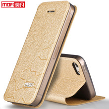 case for iPhone 5s 5 SE iPhone 5S case cover leather flip back silicon luxury protective accessory case for iPhone 5S 6 6S case(China)