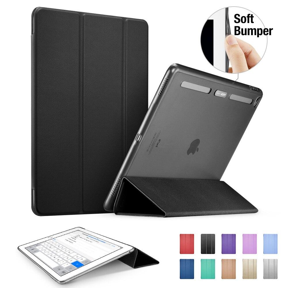 Case for iPad Pro 12.9 inch, ESR Soft TPU Corner Translucent Hybrid Back Cover Auto Wake Smart Cover Case for iPad Pro 12.9<br><br>Aliexpress
