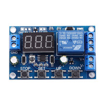 DC 6-40V Battery Charger Discharger Board Undervoltage Overvoltage Protection Board Module Precision Auto Off Module Discharger(China)