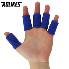 2 colors / 10 piece,elastic stretchable jacket, outdoor sports basketball soccer volleyball finger protect protection tools(China)